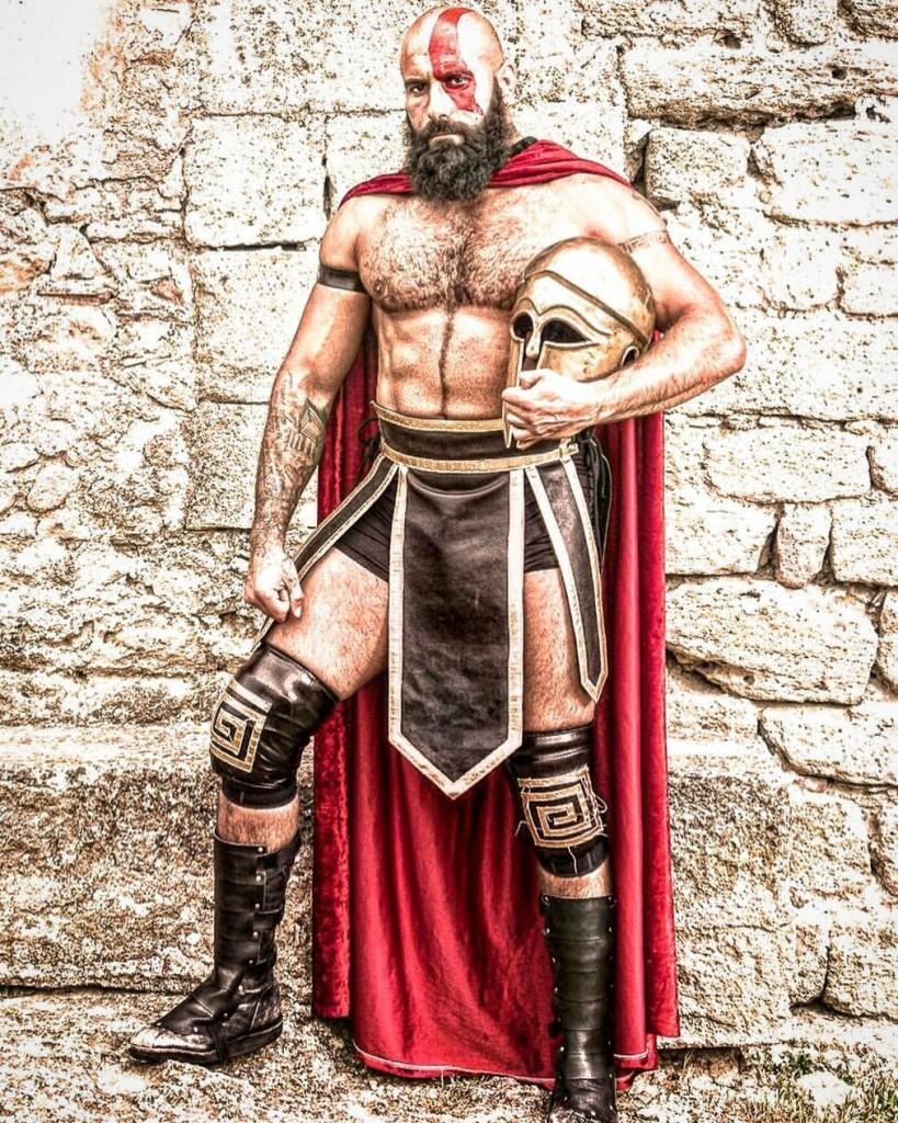 Tom La Ruffa The Spartan Warrior