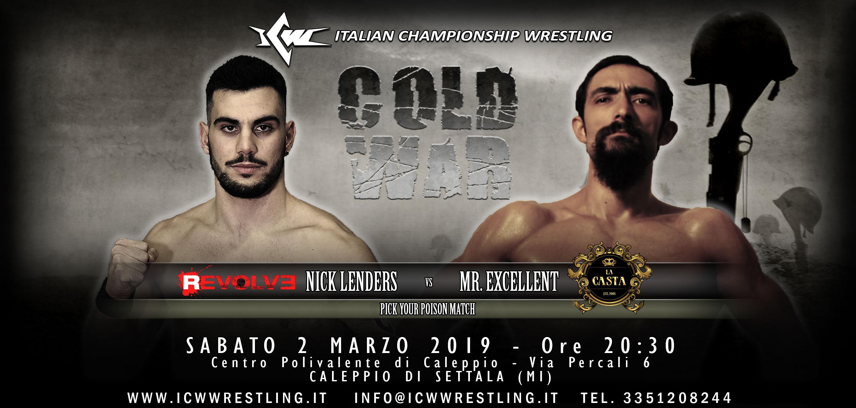 I Campioni del Wrestling in azione a Settala (Milano) questo sabato!