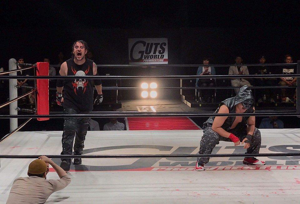 Psycho Mike debutta in Giappone alla GUTS Pro Wrestling!