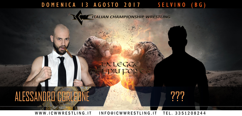 Nuovo sfidante misterioso per Corleone a Selvino!