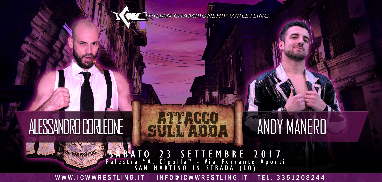 Grande Evento stasera a San Martino in Strada: il programma completo di ICW Attacco sull'Adda!