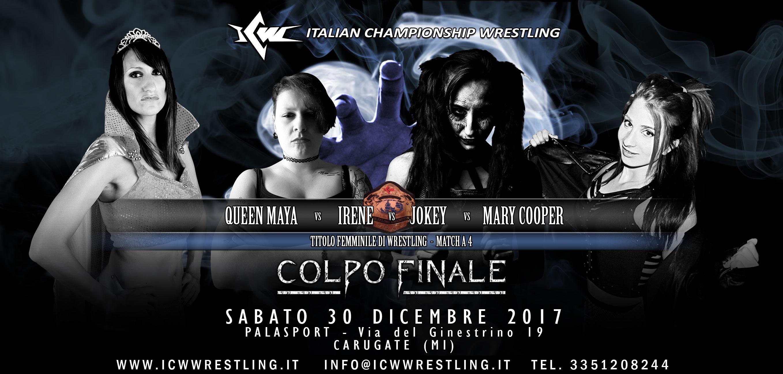 Match Femminile Quadrangolare annunciato per il 30 dicembre a Milano!