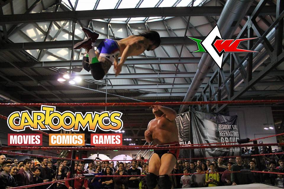 Ci siamo: Il Grande Wrestling ICW torna a Cartoomics il 9, 10 e 11 marzo!
