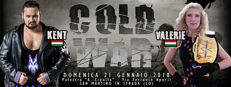 Ospiti Internazionali annunciati per ICW Cold War 2018!