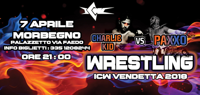 Il Grande Wrestling torna in Valtellina! Il programma completo di ICW Vendetta 2018