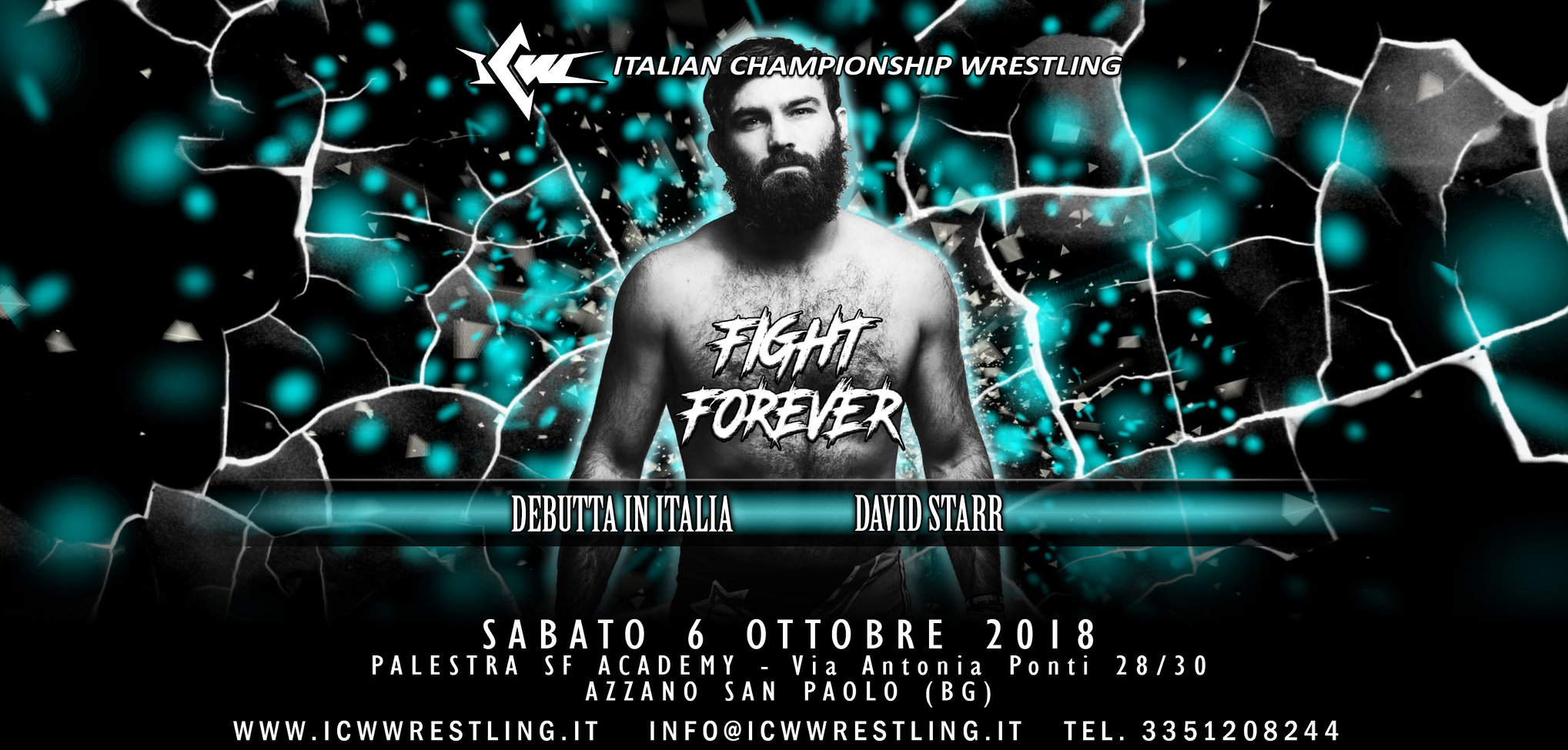 "Ufficiale! ""The Product"" David Starr a ICW Fight Forever #2!"