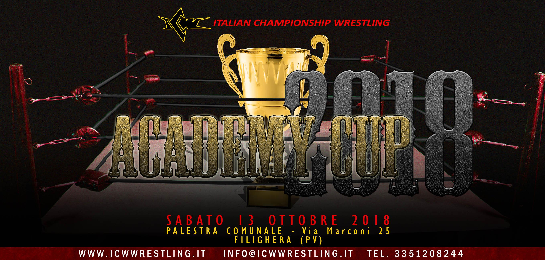 Questo sabato a Pavia la nona edizione della ICW Academy Cup!