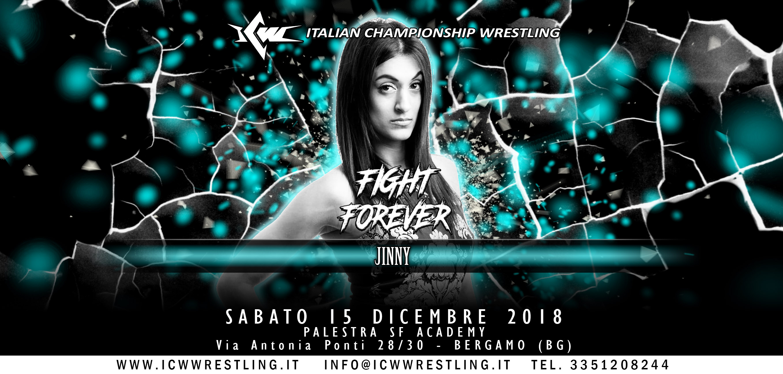 Jinny arriva in Italia a ICW Fight Forever #4!