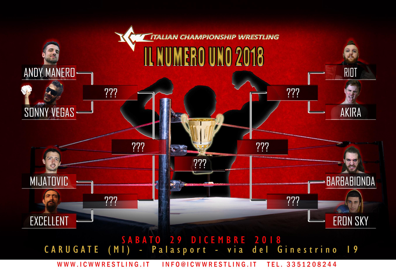 Sabato 29 a Carugate torna il Torneo più atteso dell'anno! Chi sarà Il Numero Uno del 2018?