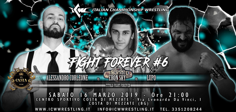 Sabato 16 marzo torna ICW Fight Forever! Tutti i match in programma