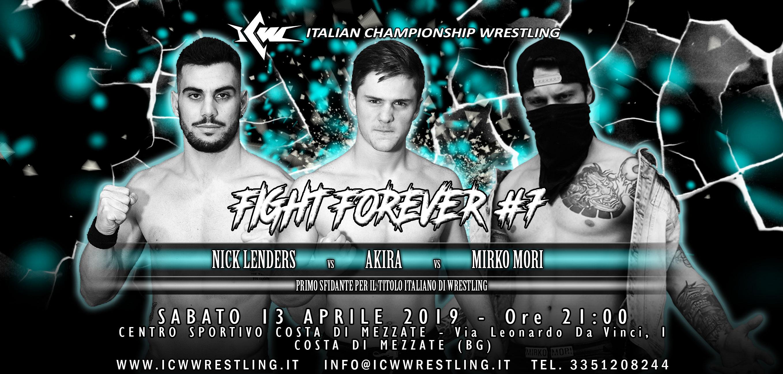 Main Event da sogno, Casta Party, e molto altro: sabato 13 aprile a Bergamo torna ICW Fight Forever!