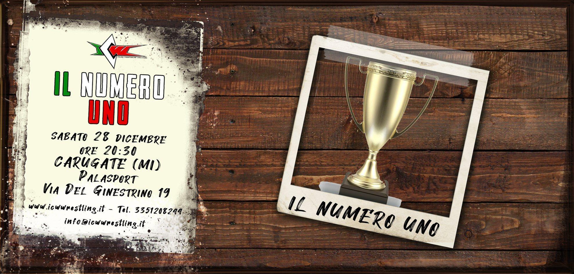 Sabato 28 dicembre a Carugate il Torneo più atteso dell'anno: chi sarà Il Numero Uno 2019?