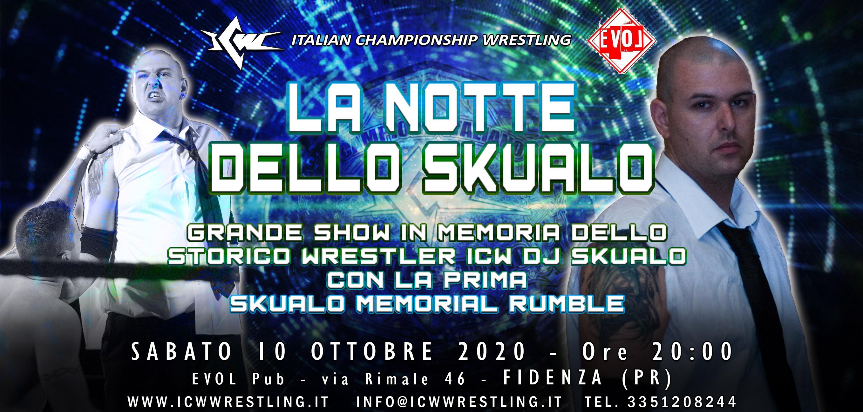 Sabato 10 Ottobre la ICW all'Evol Pub di Fidenza per ricordare DJ Skualo