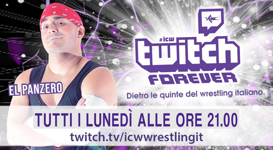 El Panzero è il secondo Host di ICW Twitch Forever!