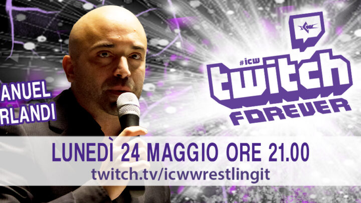 A tu per tu con Manuel Orlandi a ICW Twitch Forever!