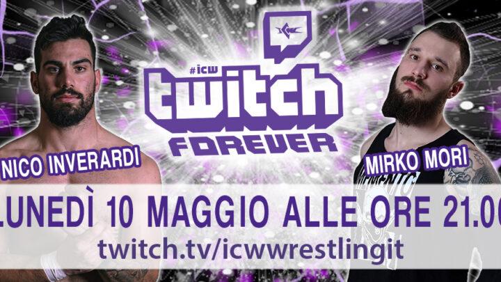 Nico Inverardi e Mirko Mori prossimi ospiti di ICW Twitch Forever!