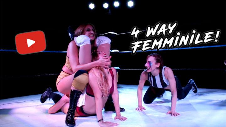 Nuovo Video: 4 Way di Wrestling Femminile!