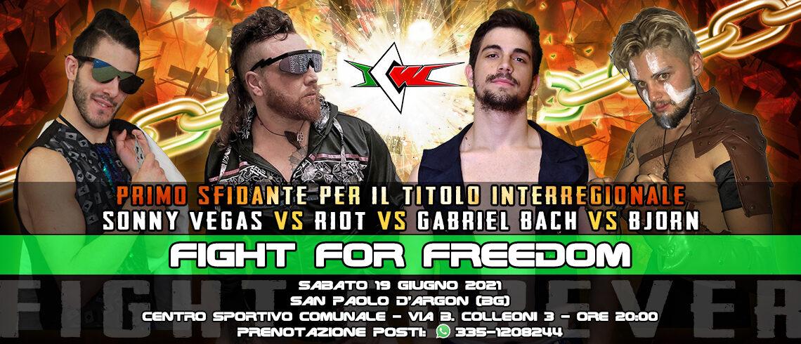 Fatal Four Way confermato per ICW Fight For Freedom!