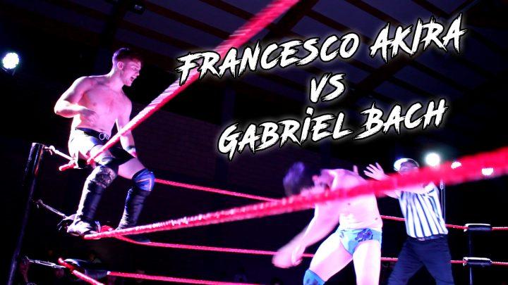 Match inedito online: Francesco Akira vs Gabriel Bach