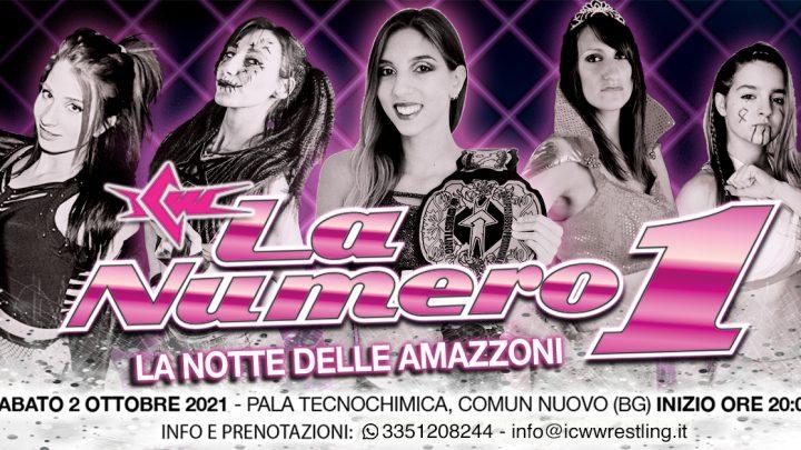 ICW La Numero Uno: il primo Show di Wrestling al 100% Femminile in Italia!