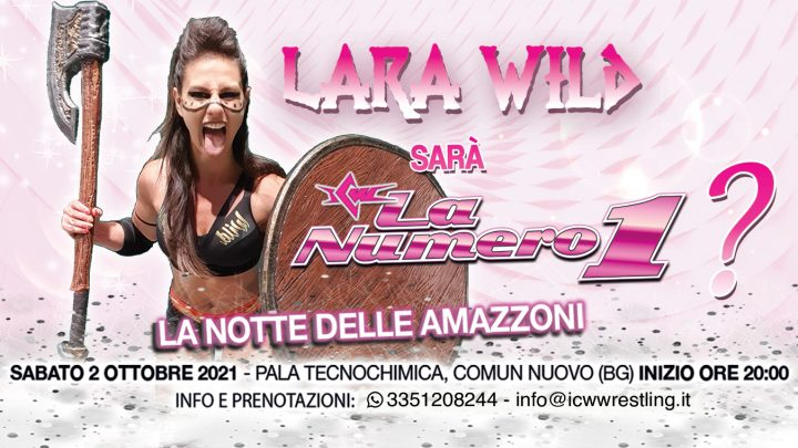 Lara Wild alla Notte delle Amazzoni!
