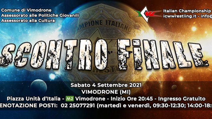 Il Grande Wrestling torna a Milano con ICW Scontro Finale!