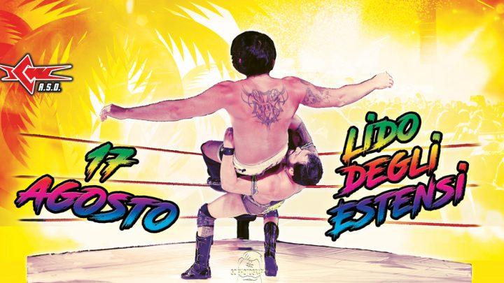 Il Grande Wrestling ICW arriva a Lido degli Estensi con un grande show in spiaggia il 17 agosto!