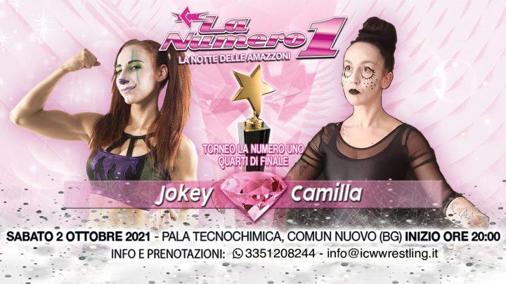Bambola contro Bambola! Jokey affronta Camilla alla Notte delle Amazzoni!