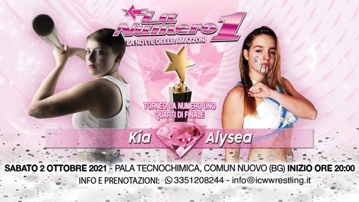 Terzo match annunciato per ICW La Numero Uno: Kia ritorna sul ring contro Alysea!