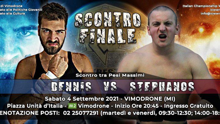 Scontro Finale tra Pesi Massimi: Dennis vs Stephanos a Vimodrone!