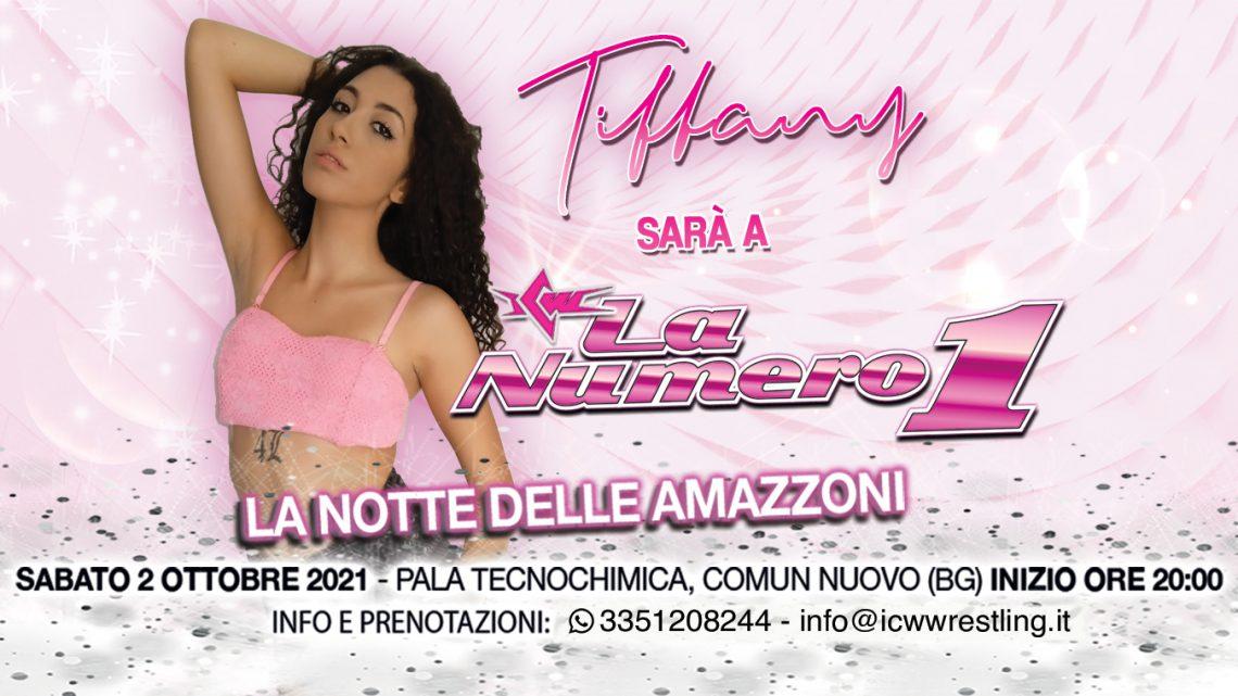 Tiffany a ICW La Notte delle Amazzoni!