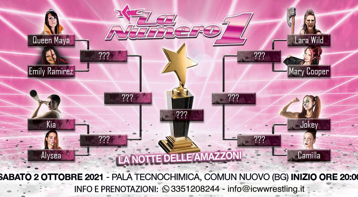 Pubblicato il tabellone del Torneo ICW La Numero Uno!