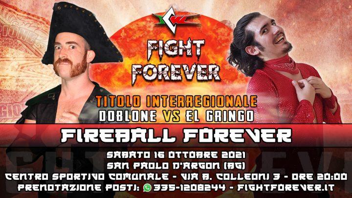 El Gringo sfida Doblone per il Titolo Interregionale a Fight Forever!