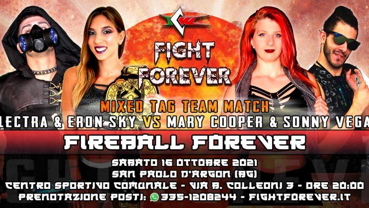 Match di Coppia Misto annunciato per ICW Fight Forever!