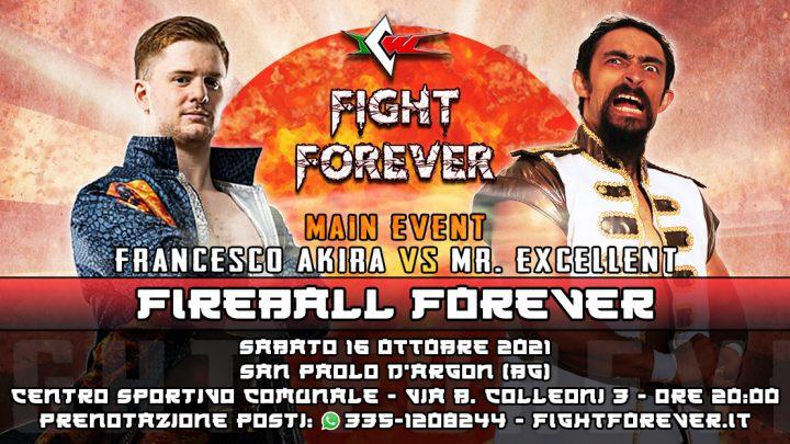 Sarà Mr. Excellent l'avversario di Francesco Akira a ICW Fight Forever!