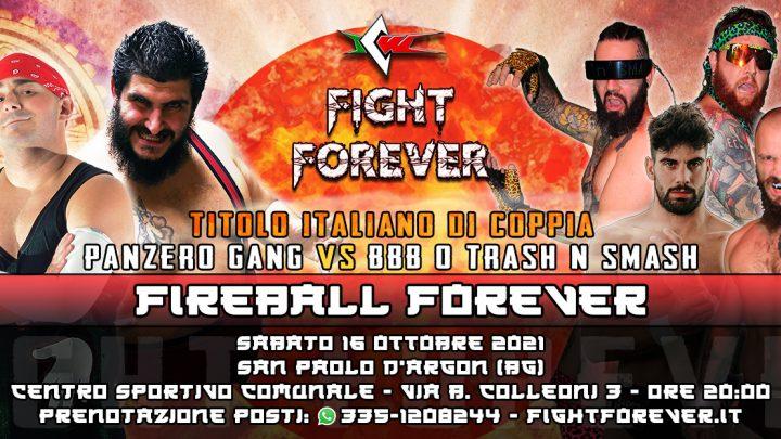 Doppio Match di Coppia a Fight Forever! La Panzero Gang affronterà i BBB o i Trash 'N Smash?